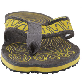 La Sportiva Swing Sandales Homme, black/yellow